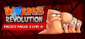 Worms Revolution - Pacote Pague 3 Leve 4!