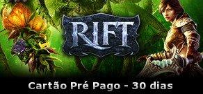 RIFT Cartão Pré-Pago (30 dias)
