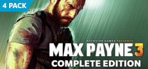 Max Payne 3: The Complete Edition Four Pack