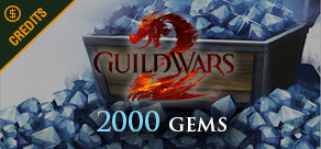 Guild Wars 2 - 2000 Gems