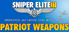Sniper Elite III - Patriot Weapons Pack