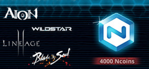 Ncsoft - 4000 Ncoins