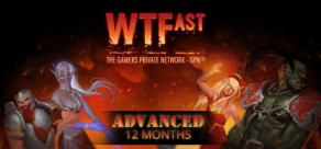 WTFast Advanced - 12 Months