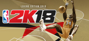 NBA 2K18 - Legend Edition Gold
