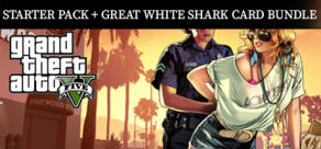 Grand Theft Auto V - CESP + Great White Shark Card Bundle