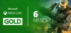 Xbox Live Gold - 6 Meses