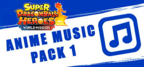 Super Dragon Ball Heroes: World Mission - Anime Music Pack 1