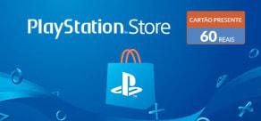 PlayStation Store - Virtual Card 60 Reais