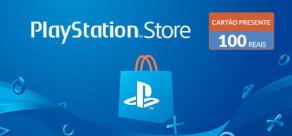 PlayStation Store - Virtual Card 100 Reais