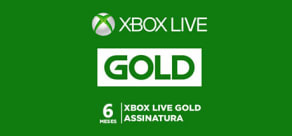 Xbox Live 6 Months - Digital Gift Card