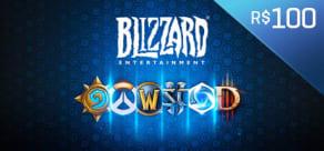 Blizzard - Gift Card Digital 100 Reais
