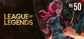 LoL Riot Points - Digital Gift Card 50 Reais