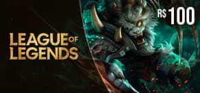 LoL Riot Points - Digital Gift Card 100 Reais