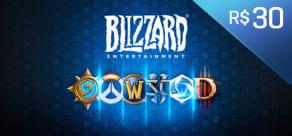 Blizzard - Gift Card Digital 30 Reais