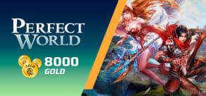 Perfect World - Pacote de 8000 Gold