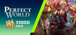 Perfect World - Pacote de 31000 Gold