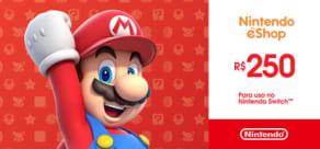 Nintendo - Gift Card Digital 250 Reais™