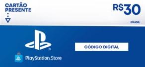R$30 PlayStation Store - Digital Gift Card