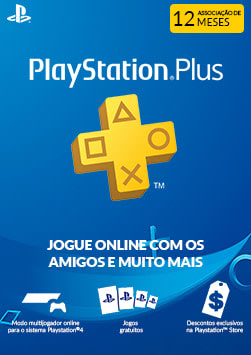 Playstation Plus - 12 Meses