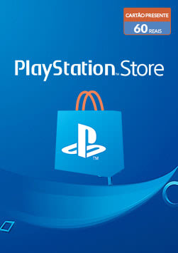 PlayStation Store - Cartao Virtual 60 Reais