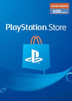 PlayStation Store - Cartao Virtual 100 Reais