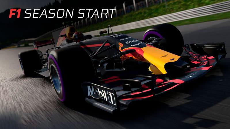 F1 Season Start