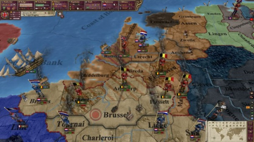 Screenshot 3 - Victoria II: Heart of Darkness