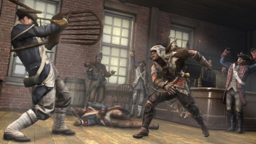 Screenshot 2 - Assassin's Creed 3 - The Tyranny of King Washington - The Betrayal