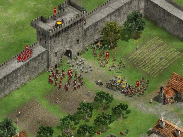 Screenshot 3 - Knights of Honor