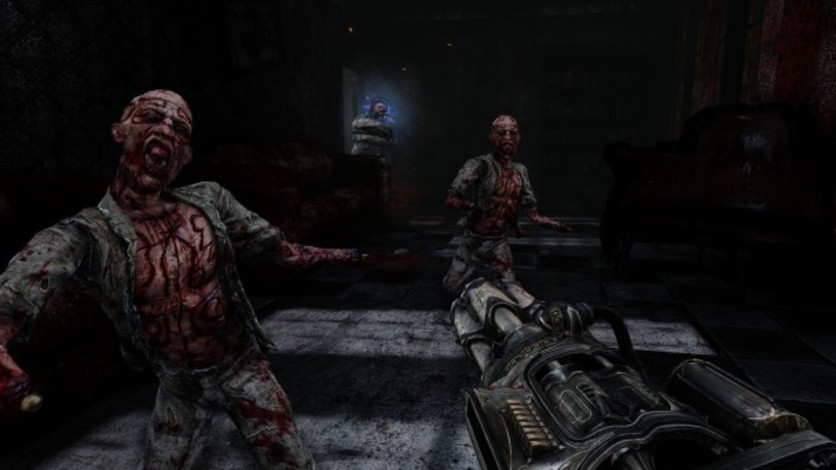 Screenshot 1 - Painkiller Hell & Damnation: The Clock Strikes Meat Night