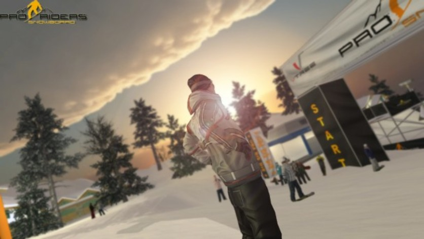 Screenshot 8 - Pro Riders Snowboard Xtreme - Camera Version