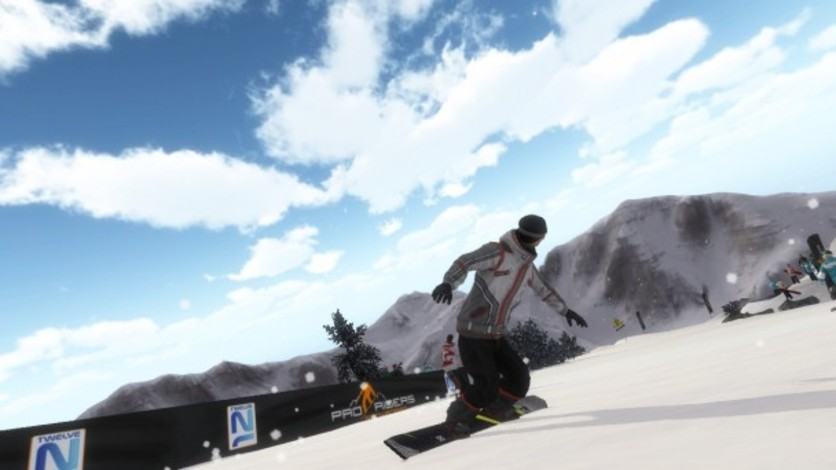 Screenshot 6 - Pro Riders Snowboard Xtreme - Camera Version