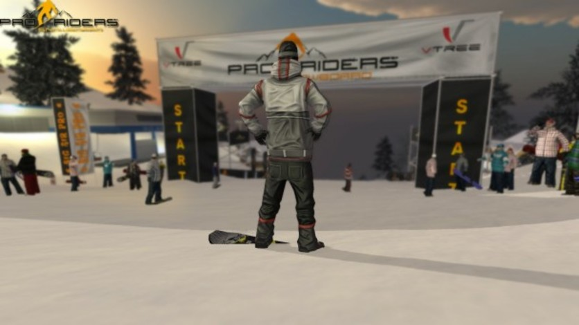 Screenshot 3 - Pro Riders Snowboard Xtreme - Camera Version
