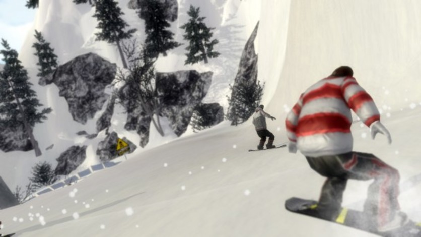 Screenshot 7 - Pro Riders Snowboard Xtreme - Camera Version