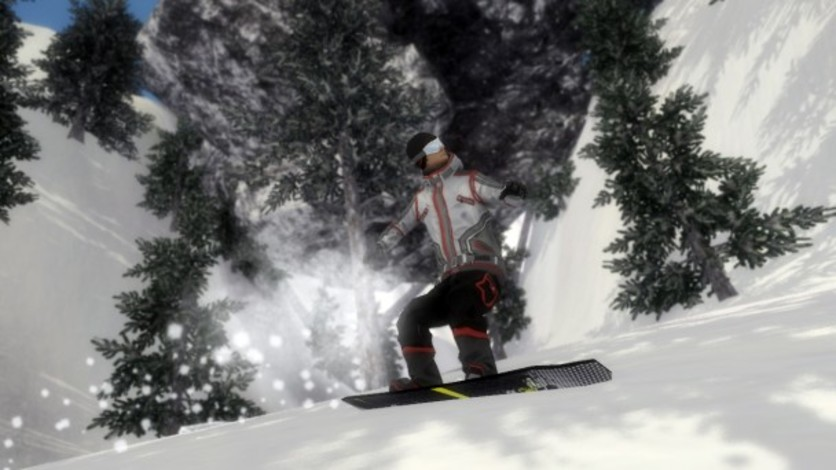 Screenshot 10 - Pro Riders Snowboard Xtreme - Camera Version