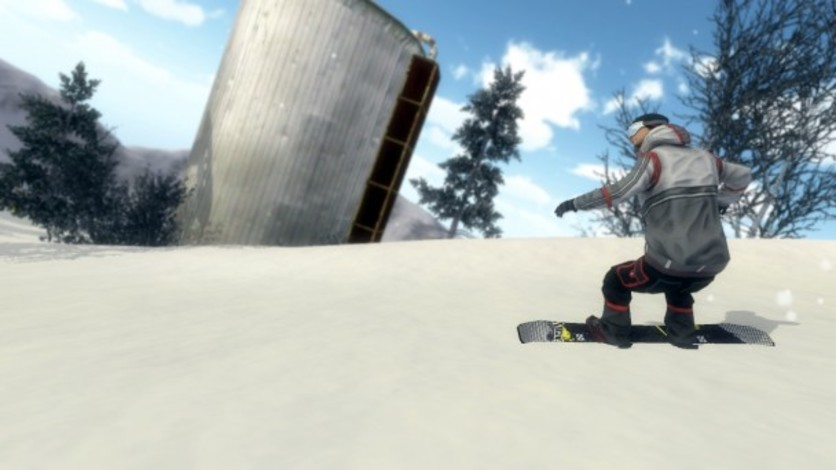 Screenshot 4 - Pro Riders Snowboard Xtreme - Camera Version