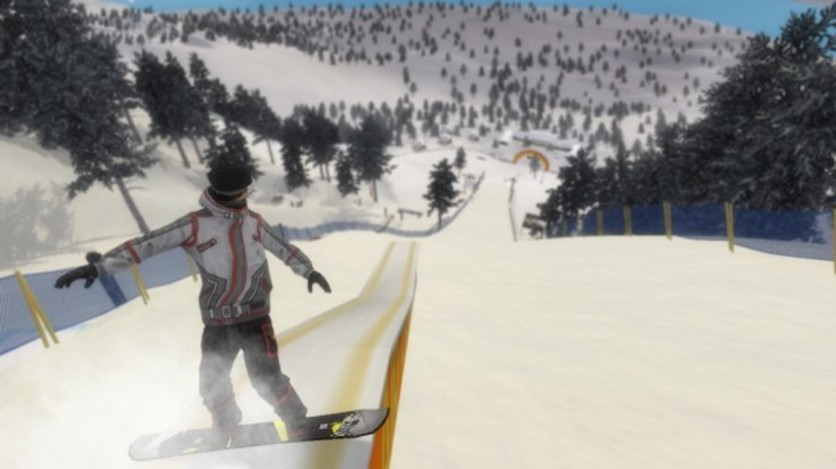 Screenshot 5 - Pro Riders Snowboard Xtreme - Camera Version