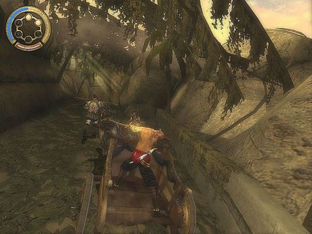 Screenshot 1 - Prince of Persia: The Two Thrones