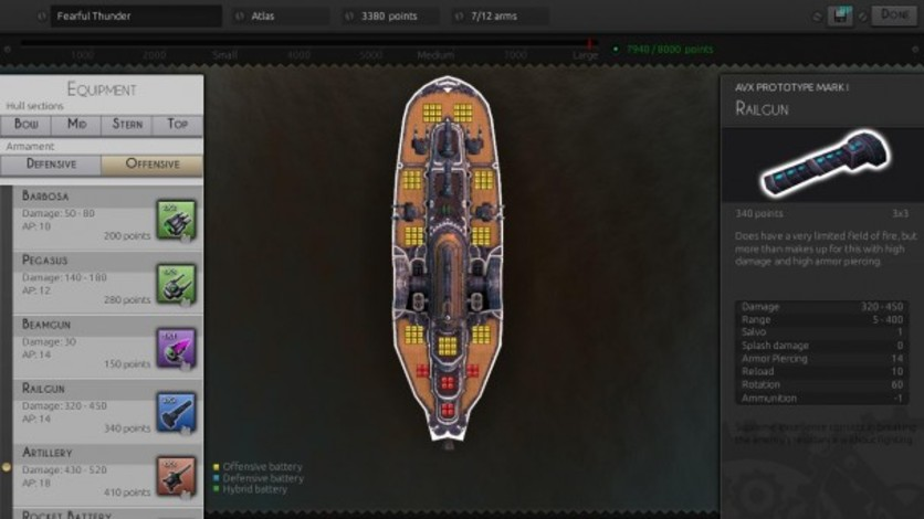 Screenshot 2 - Leviathan: Warships