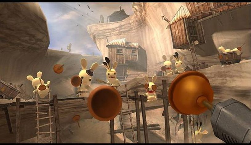 Screenshot 7 - Rayman Raving Rabbids