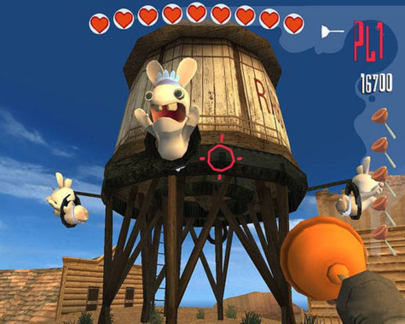 Screenshot 4 - Rayman Raving Rabbids
