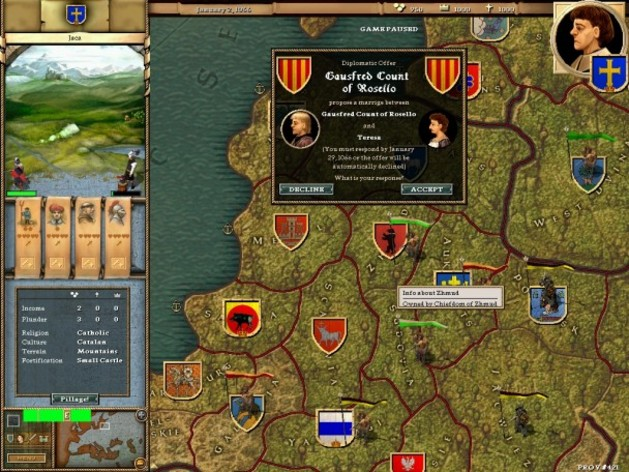 Screenshot 1 - Crusader Kings: Complete