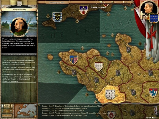 Screenshot 4 - Crusader Kings: Complete
