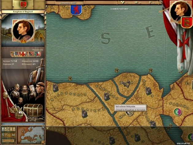 Screenshot 3 - Crusader Kings: Complete