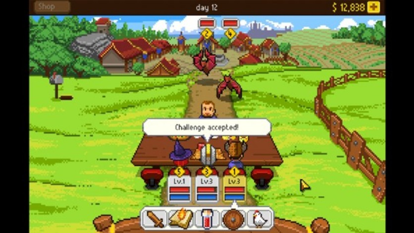 Screenshot 11 - Knights of Pen & Paper +1 Edition
