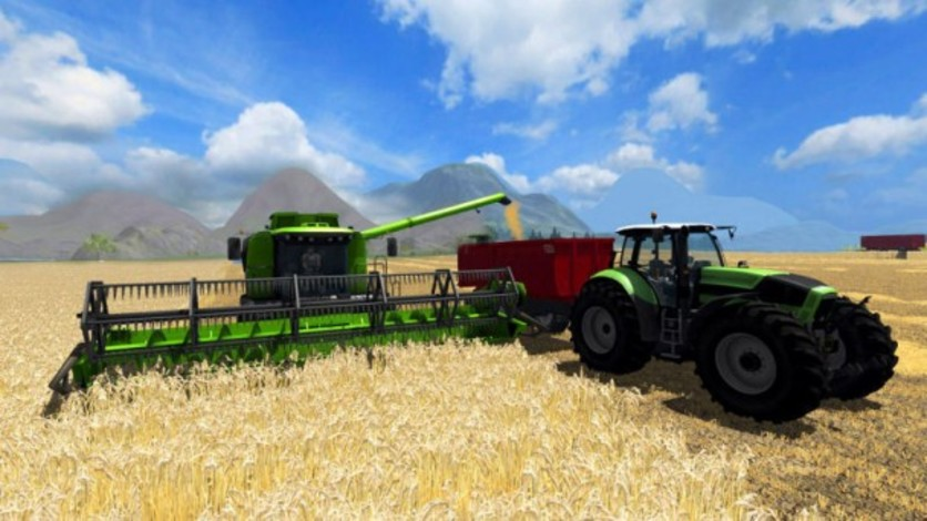 Screenshot 1 - Farming Simulator 2011
