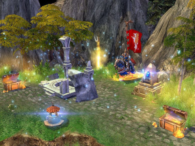 Screenshot 1 - Heroes of Might and Magic V