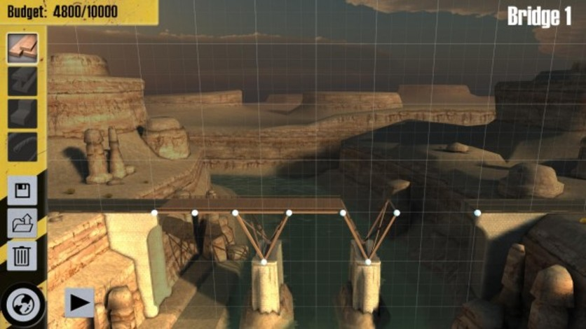 Screenshot 5 - Bridge Constructor