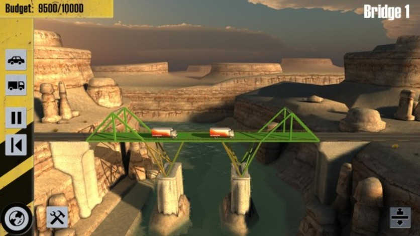 Screenshot 4 - Bridge Constructor