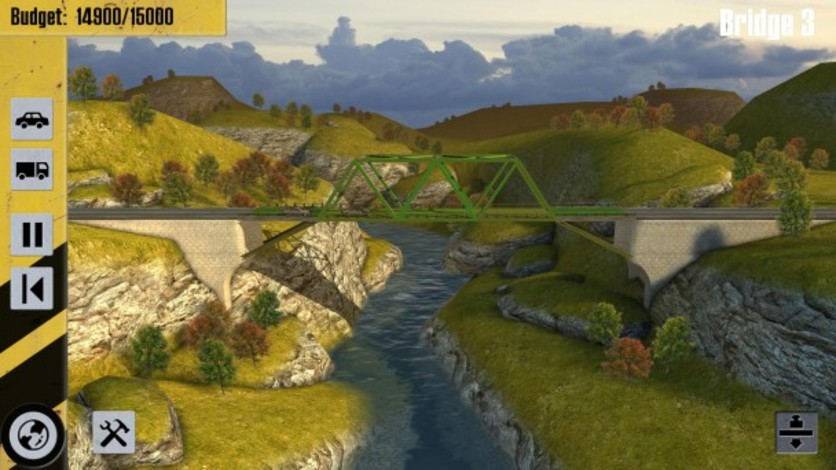 Screenshot 1 - Bridge Constructor